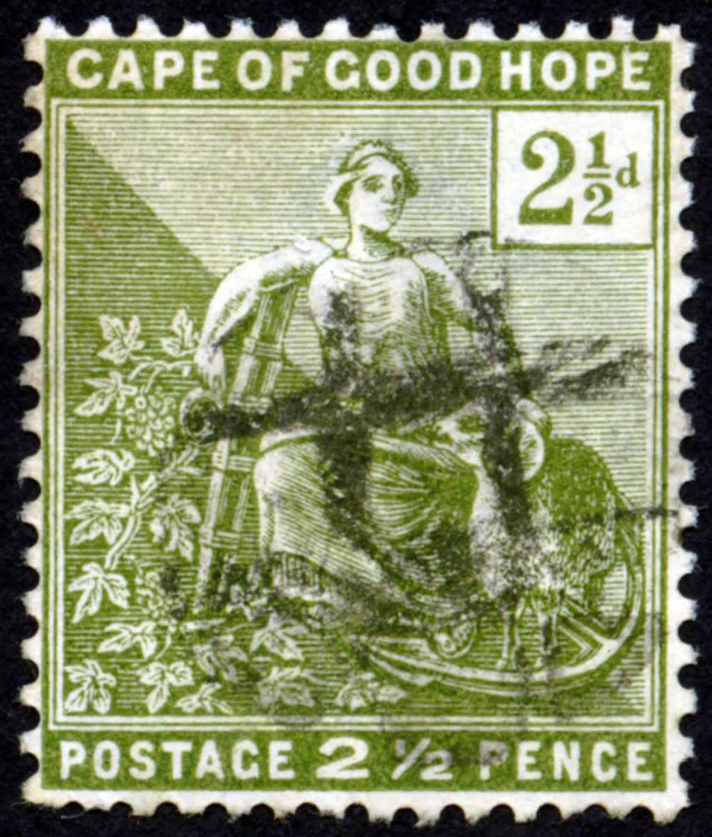 The Permanent 2 1/2 pence stamp of June 1892