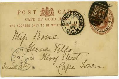 Cape of Good Hope Telegraph Company 1860