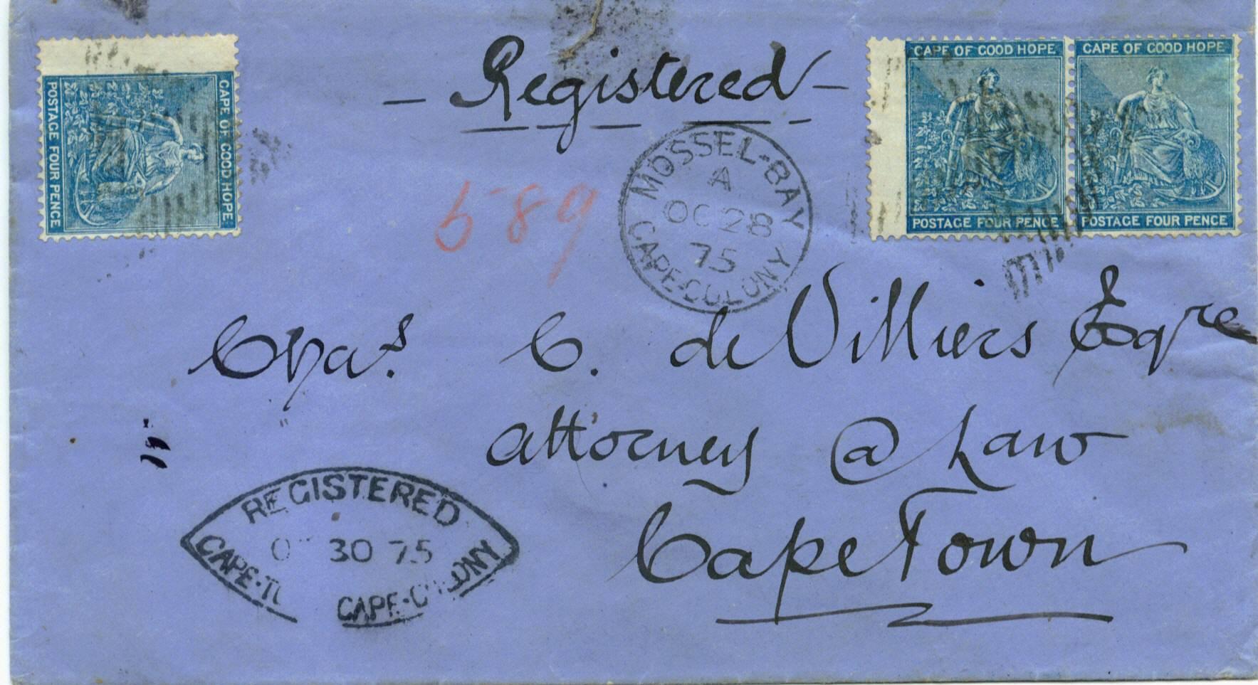 Registered Letters