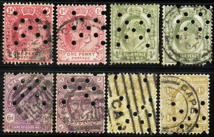 The King Edward VII Stamps of 1902